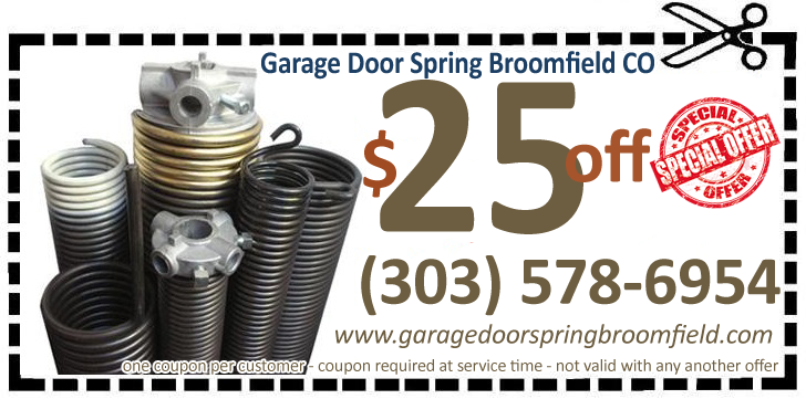 Garage Door Spring Broomfield Co Spring Repair